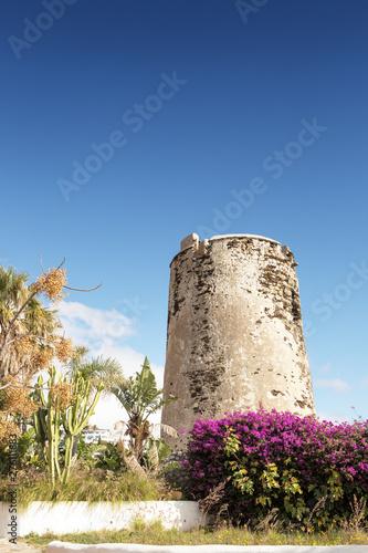 Fototapeta Torremuelle Watchtower in spain