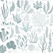 Vector Seamless Pattern With U...