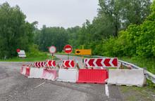Stop, Detour, Road Signs, Repa...