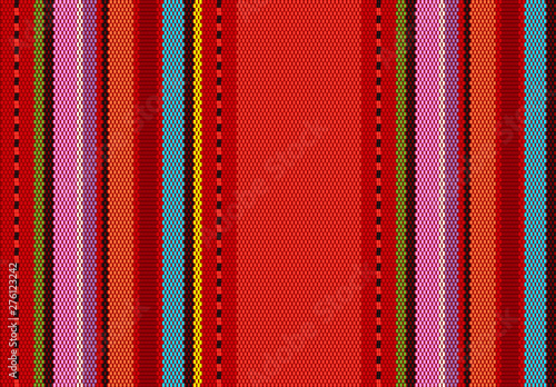 Photo  detail background with mexican color