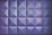 Rhombic Light Lilac Color Wall...