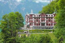 Historic Hotel Hotel Giessbach, Switzerland.