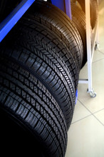 New Tires That Is Stored On Th...
