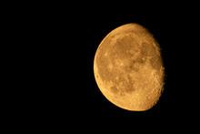 Orange WANING GIBBOUS Moon Tak...