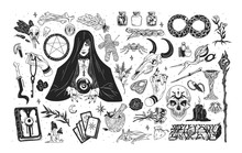 Witchcraft Set - Witch Or Ench...