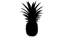 Picture Of Pineapple Silhouette