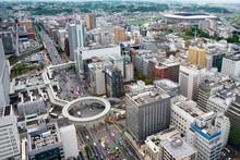 横浜市港北区の都市景観 Cityscape Of Kohoku Ward, Yokohama City, Japan