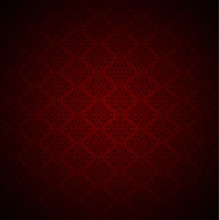Vector Illustration Of Red Background