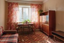 Interior Of Typical Soviet Sty...