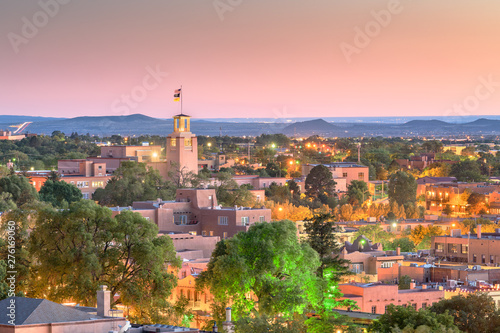 Fototapeta premium Santa Fe, Nowy Meksyk, USA