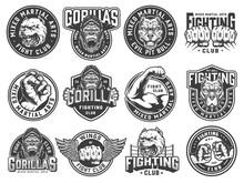 Vintage Monochrome Fight Club ...