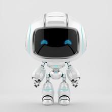 Cute White Robotic Teen – Mi...