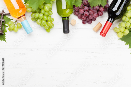 Poster Pays d Asie Wine and grape