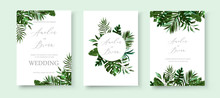 Wedding Greenery Tropical Exot...