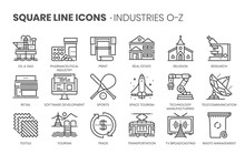 Industries Related, Square Lin...