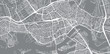Urban vector city map of Rotterdam, The Netherlands