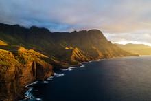 Coastline, Agaete, Gran Canaria, Canary Islands, Spain, Atlantic