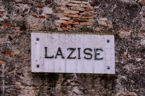 Obraz na plátne Lazise is a Medieval comune in the Province of Verona in the Italian region Vene