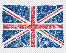 Flag Of Great Britain, Abstrac...