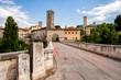 medieval town of Ascoli Piceno, Marche-Italy