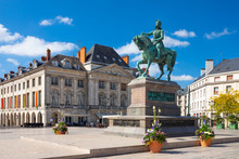 Monument Of Jeanne D'Arc On Pl...