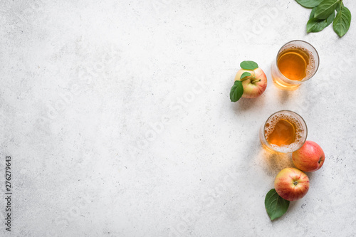 Apple cider drink Fototapet