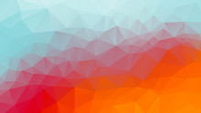 Summer Geometric Background Co...
