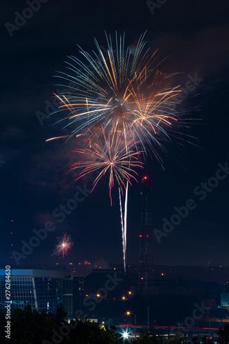 Keuken foto achterwand Nasa Fireworks Display
