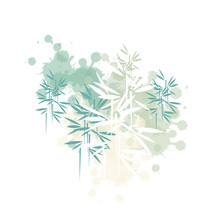 Bamboo Forest Illustration In ...