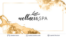 Beauty SPA Care Salon Cosmetologist Logo Design.