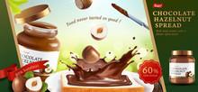 Chocolate Hazelnut Spread Ads