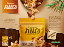 Premium Nuts Ads