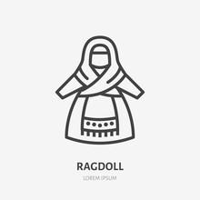 Russian Rag Doll Flat Line Ico...