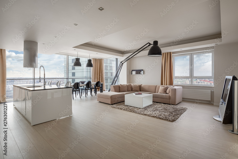 Fototapety, obrazy: Amazing apartment with view