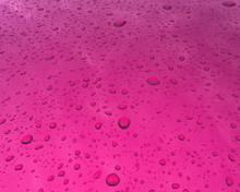 Sfondo Bello Magenta Texture Di Gocce D'acqua