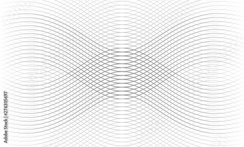 Fototapeta Vector illustration of the pattern of the gray lines abstract background. EPS10. obraz na płótnie