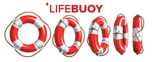 Boat Lifebuoy Ring In Differen...