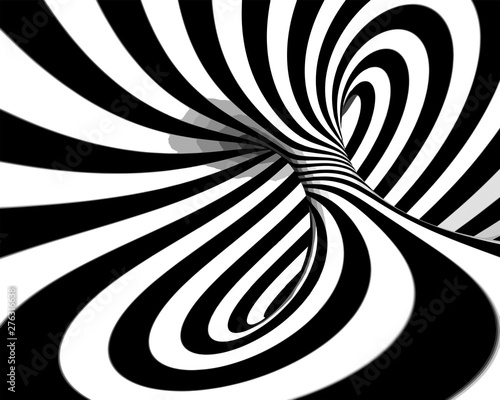 Fototapety, obrazy: Abstract background in black and white