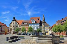 Schleusingen: Marktplatz Mit R...