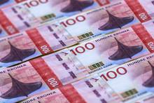 Norwegian Currency. Money Of N...