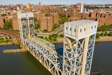 Railroad Bridge Over The Harlem River NY