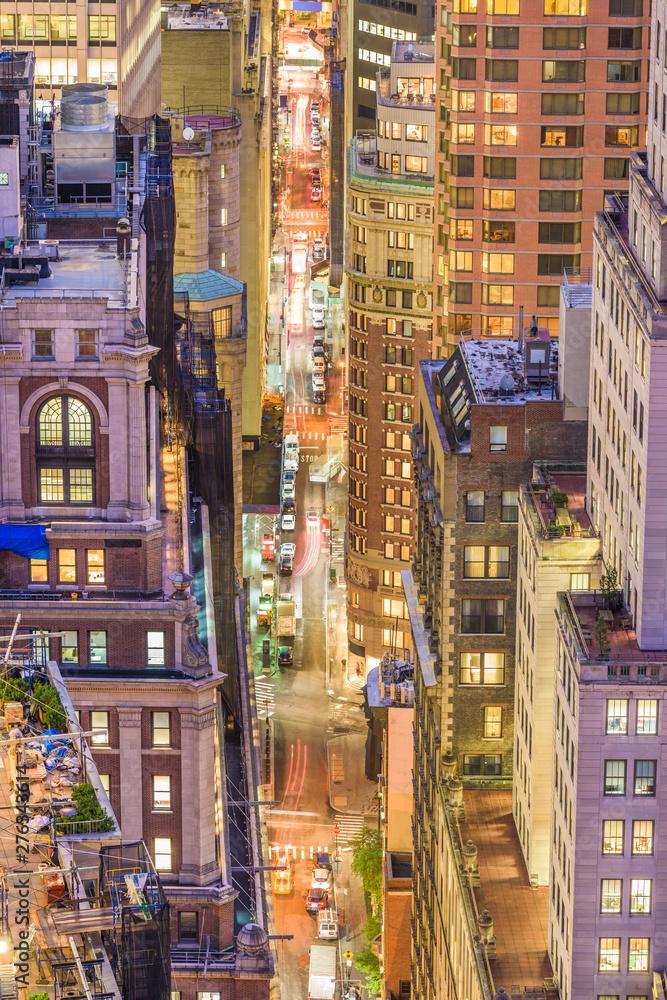 Fototapety, obrazy: New York, New York, USA Cityscape