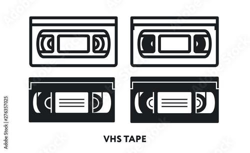 Foto VHS Retro Video Cassette Tape
