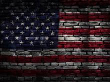 US Flag Bricks