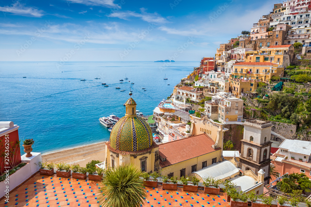 Fototapety, obrazy: Beautiful Positano on Amalfi Coast in Campania, Italy