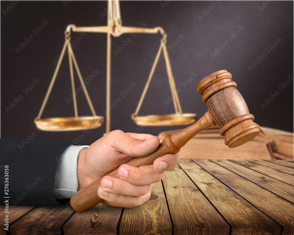 Fototapety, obrazy: Judge.