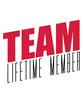 club crew spaß team lifetime member mitglied freunde gruppe verein lebenslang zusammen teil davon cool logo design shirt