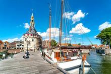 Hoofdtoren Im Historischen Hafen, Horn, Holland