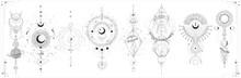 Vector Illustration Set Of Moo...