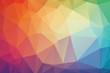 sweet soft multicolor Low poly crystal background. Polygon design pattern. sweet soft multicolor Low polygonal vector illustration, low polygon background.